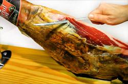 comment couper le jambon espagnol