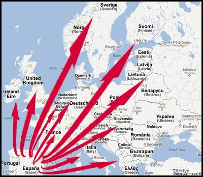 Com enviar pernils a Europa? Compra Online i preus