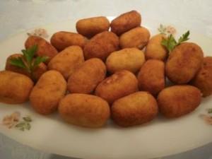 Recepta: Croquetes casolanes de pernil Serrano i formatge