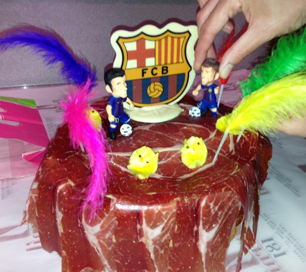 mona de pascua o pastís d'aniversari ibèric