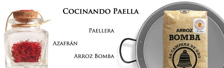 Cuina la Millor paella amb Paellera, Safrà i Arròs Bomba