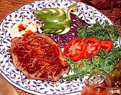 Recepta: Filet amb salsa vermella