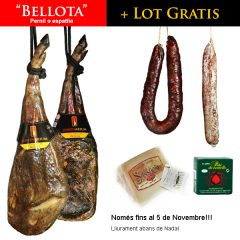 """Avança la compra del teu """"BELLOTA"""" per Nadal i emporta't un LOT gourmet GRATIS"""
