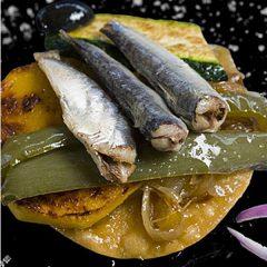 Sardines en oli d'oliva, peix fresc molt beneficiós per a la salut
