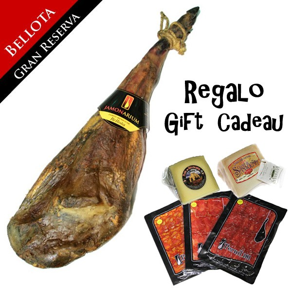 Pernil ibèric de gla «Gran Reserva 2009» + REGAL pack gourmet