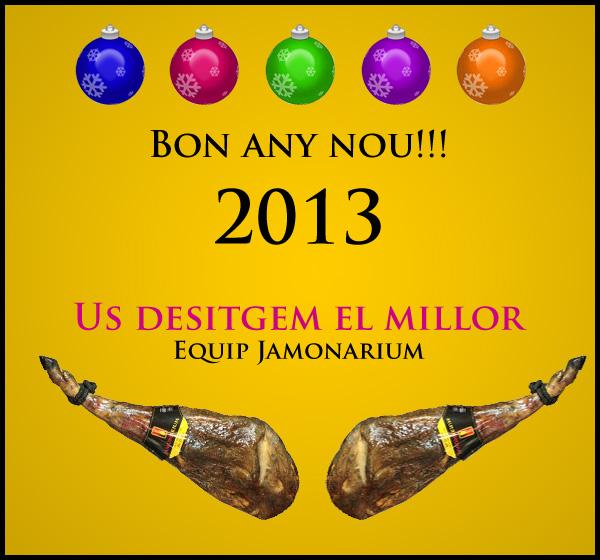Feliç any nou 2013