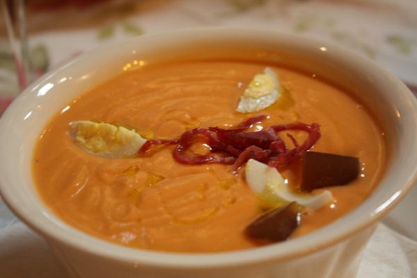 salmorejo sopa fresa dies calorosos
